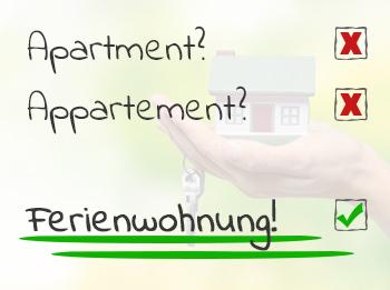 Grafik zur Apartment-Schreibweise